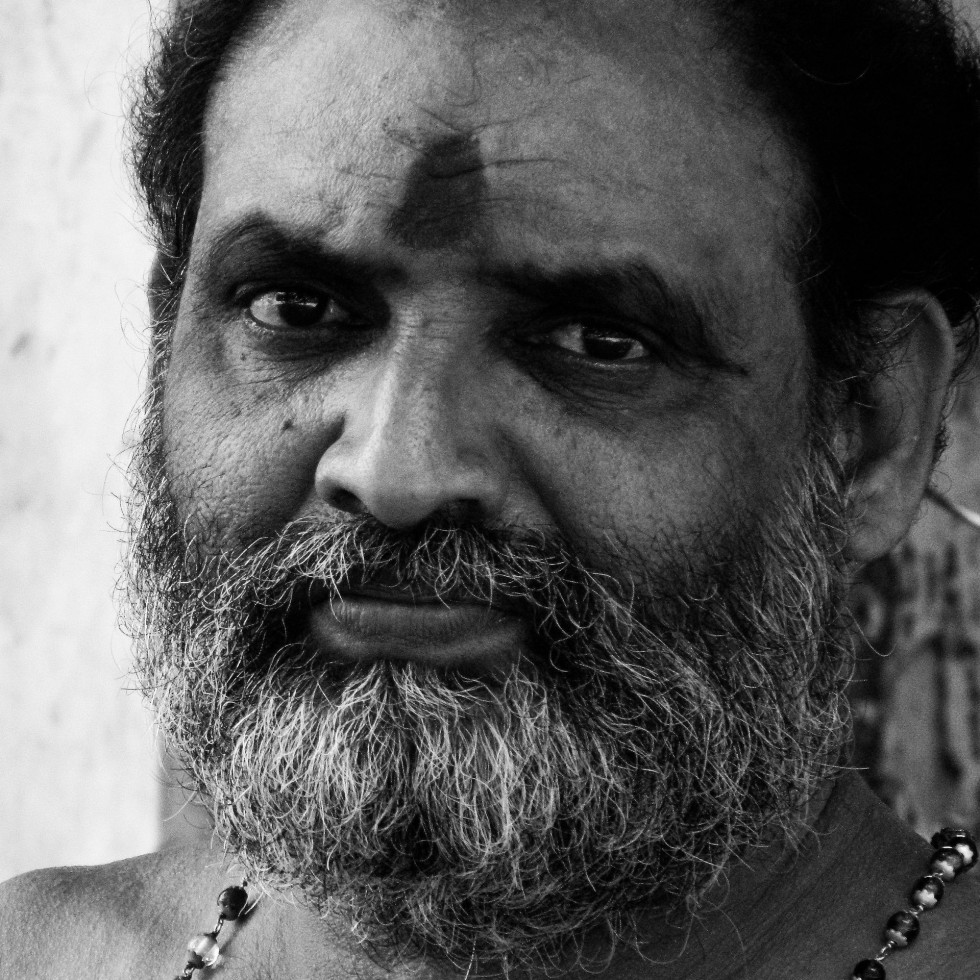 Priest, black and white, portraits, irfan hussain, thereddotman, irfan, hussain