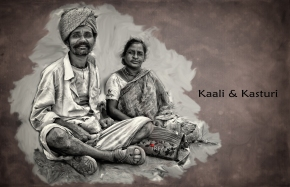 My tribute to kaali and kasturi