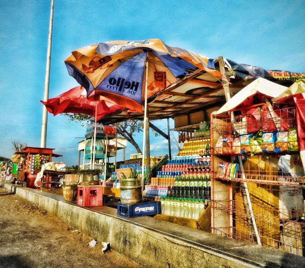 marina beach stall