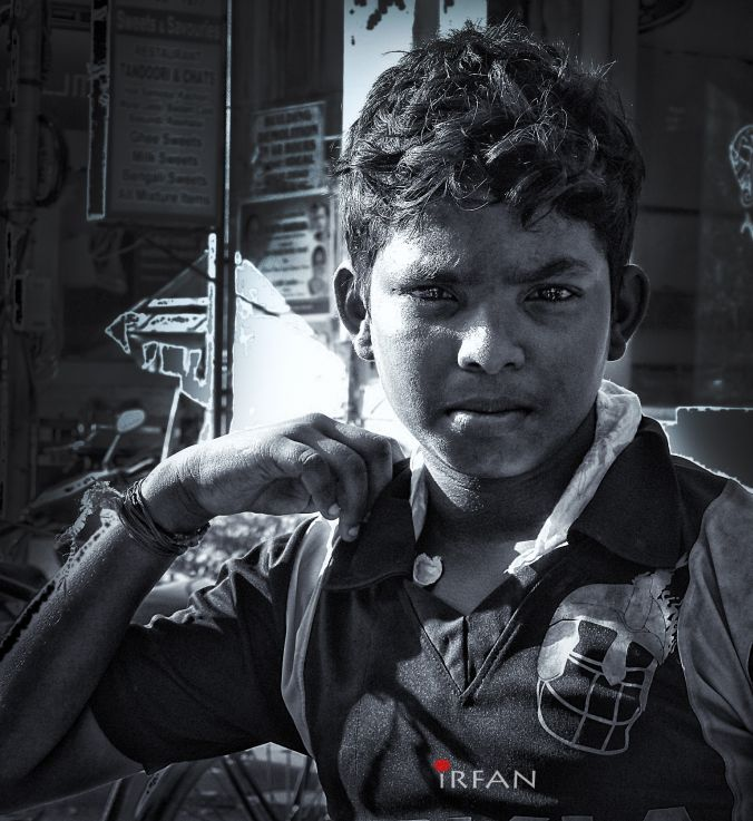 style kid street, black and white, portraits, irfan hussain, thereddotman, irfan, hussain