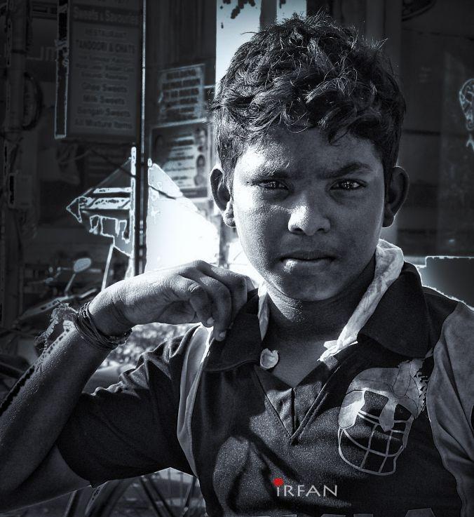 style kid street, black and white, portraits, irfan hussain, thereddotman, irfan, hussain