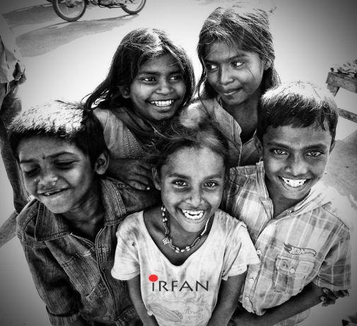 street kids fun, black and white, portraits, irfan hussain, thereddotman, irfan, hussain