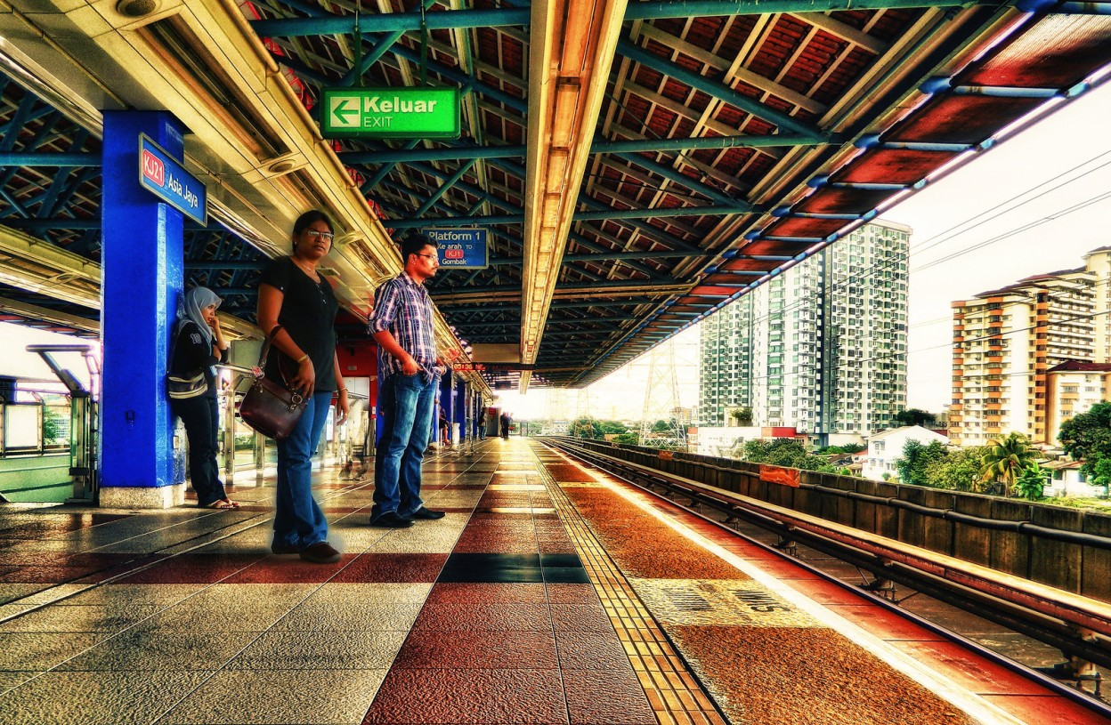 Asia Jaya Metro station
