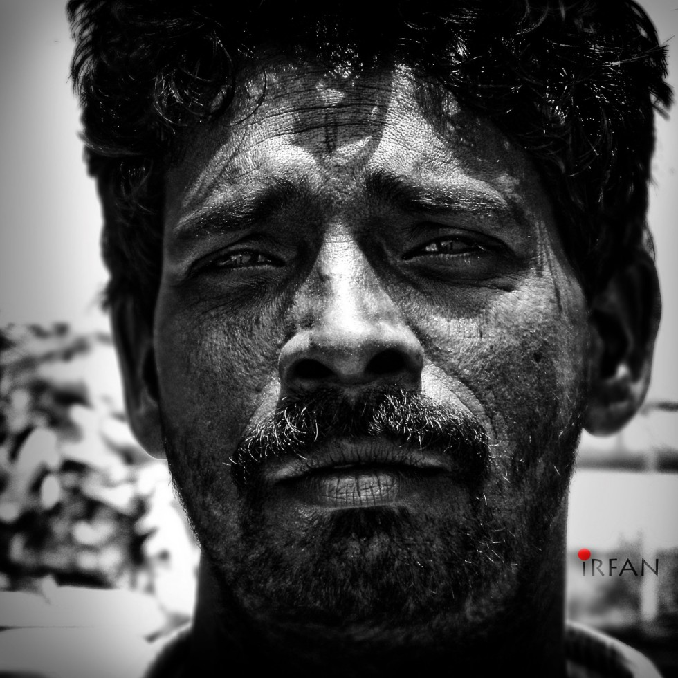 smug guy, black and white, portraits, irfan hussain, thereddotman, irfan, hussain