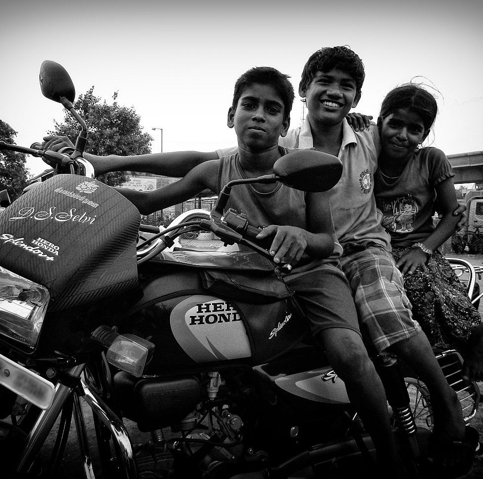kids on bike wordpress