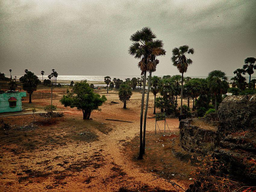 top view right alamparai fort wordpress