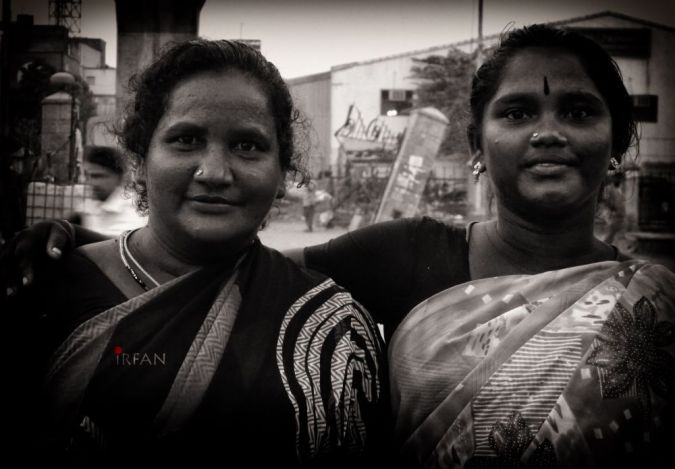flower lady friends wordpress, black and white, portraits, irfan hussain, thereddotman, irfan, hussain