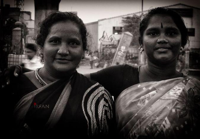 flower lady friends wordpress, black and white, portraits, irfan hussain, thereddotman, irfan, hussain