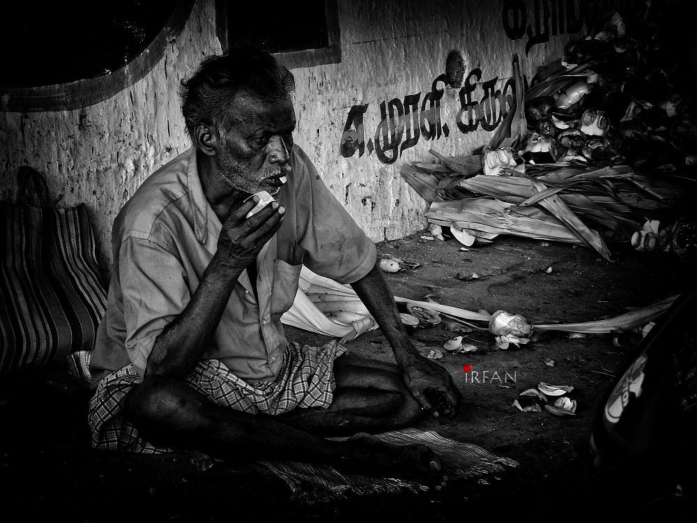 indian poverty old man under bridge home less wordpress