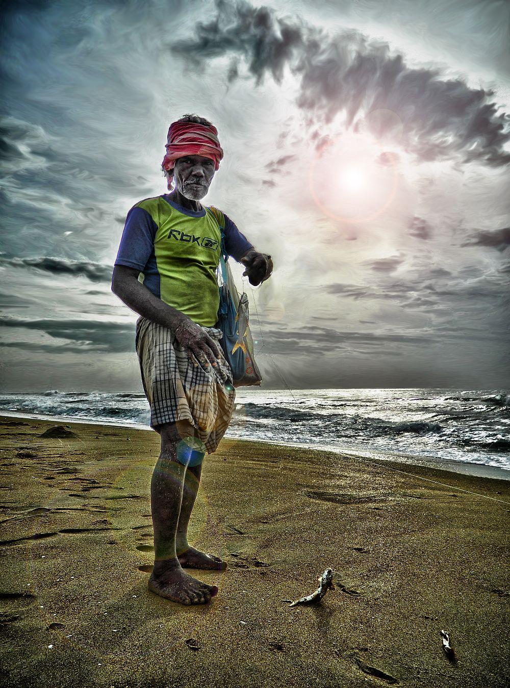 rajendar singh fisherman besant nagar beach wordpress