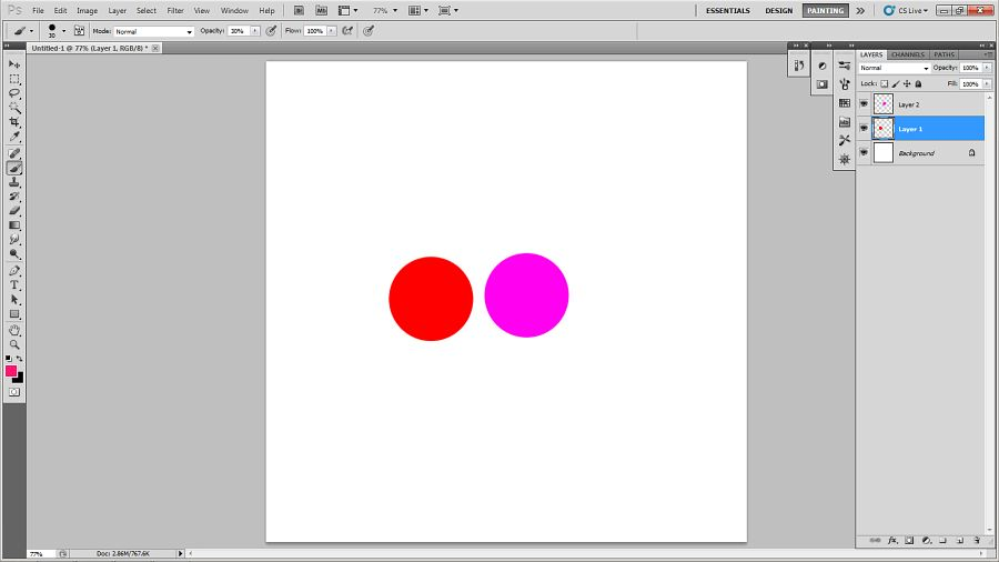 Color blending tutorial in photoshop 6