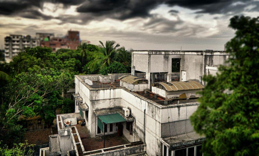 adyar, cloudy, rainy, twilight, before rain, irfan, hussain, thereddotman, the red dot man., HDR, High dynamic range, Nikon L120, Nik HDR EFEX