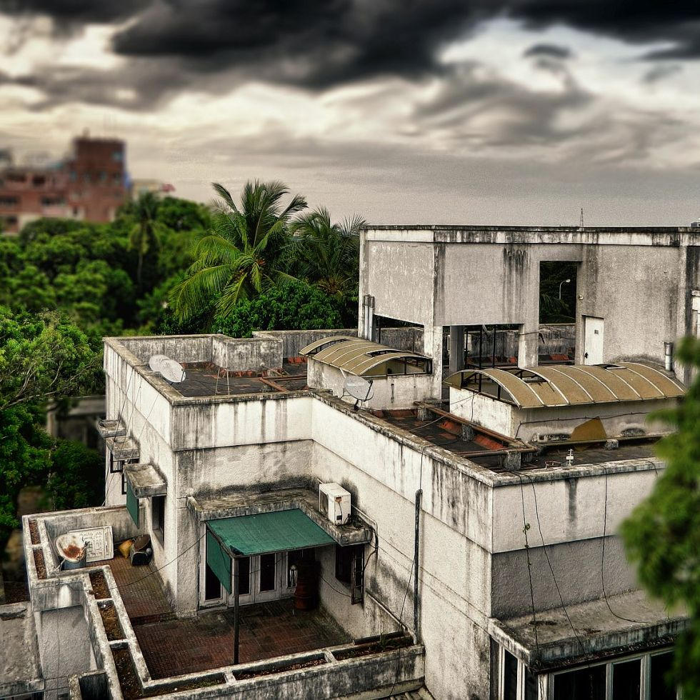 adyar, cloudy, rainy, twilight, before rain, irfan, hussain, thereddotman, the red dot man., HDR, High dynamic range, Nikon L120, Nik HDR EFEX