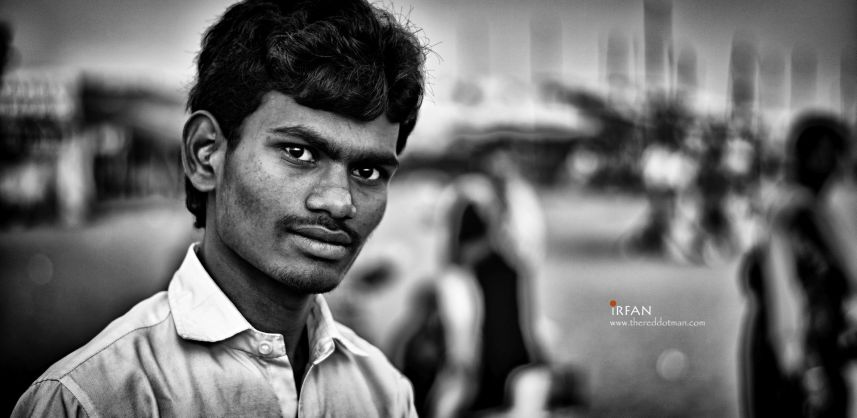 irfan, hussain, thereddotman, black and white, portraits