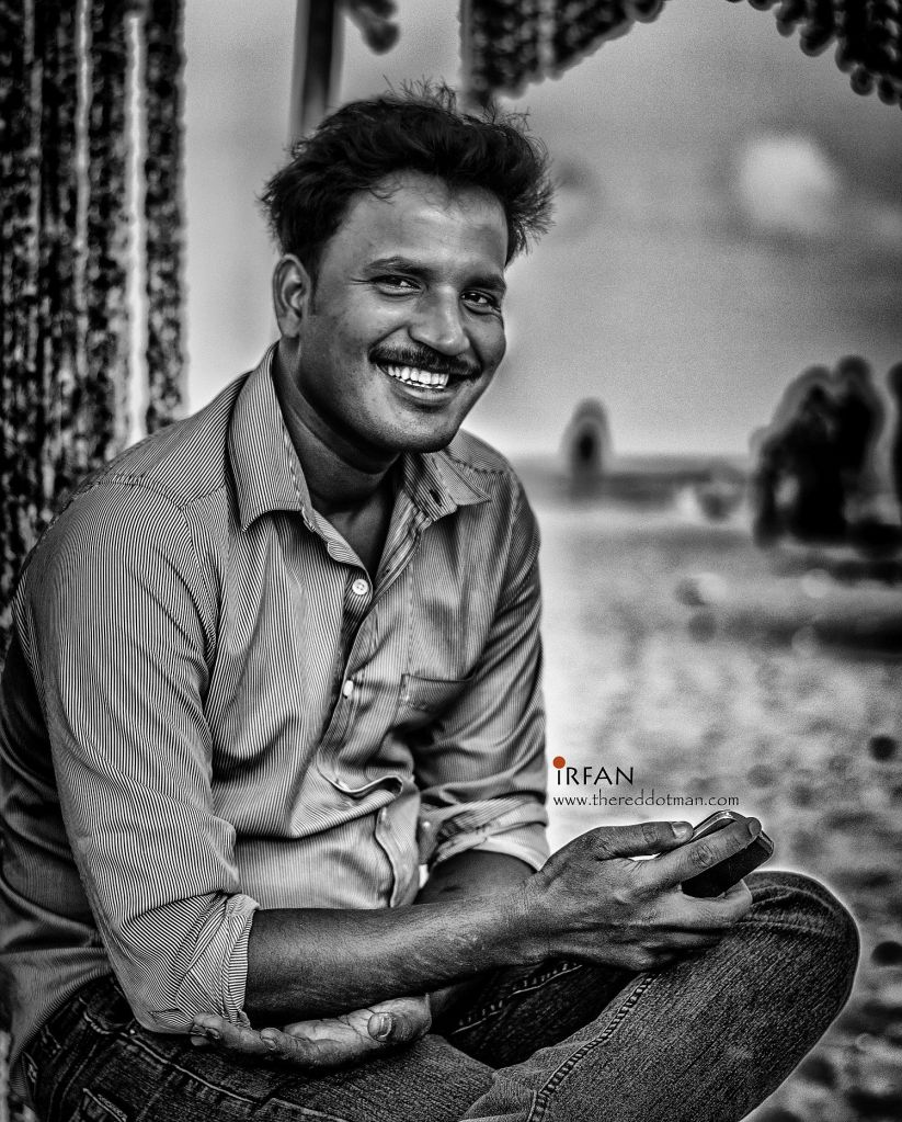 portraits, black and white, irfan hussain, irfan, hussain, theredddotman