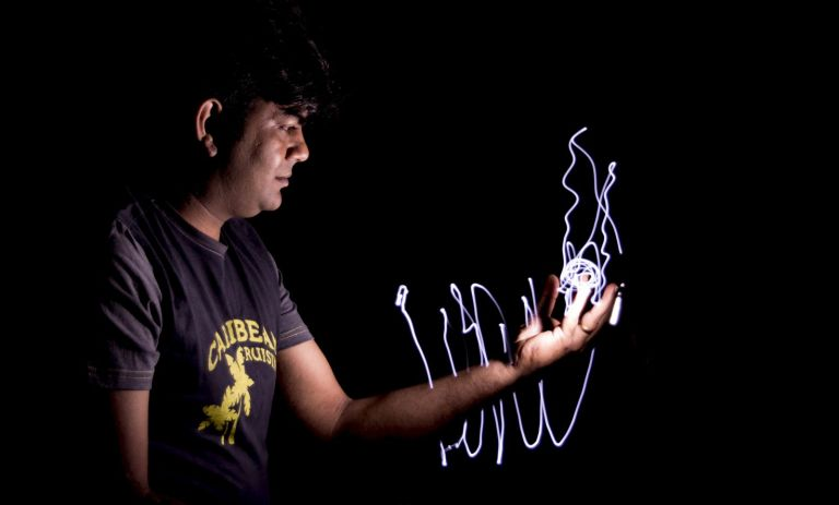 long exposure light painting tutorial