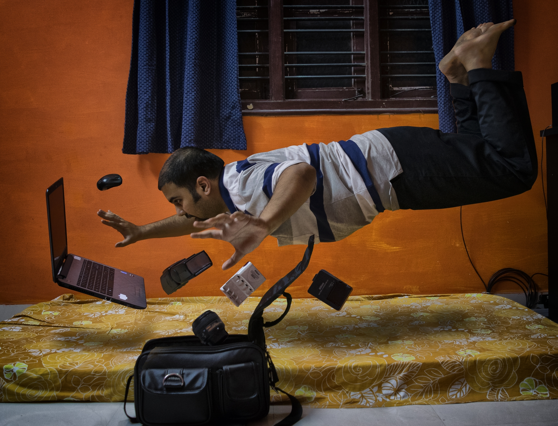 levitation photography tutorial irfan hussain thereddotman