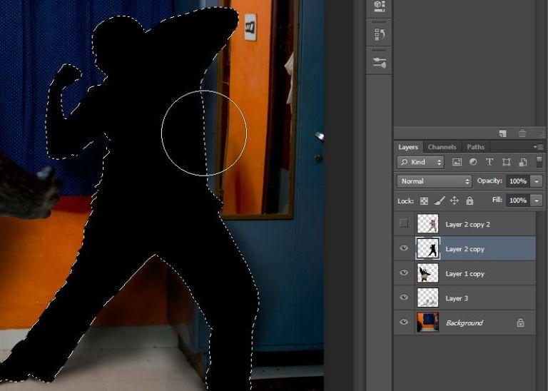 irfan hussain, theredotman, photo manipulation, tutorial, photoshop. kung fu panda, po